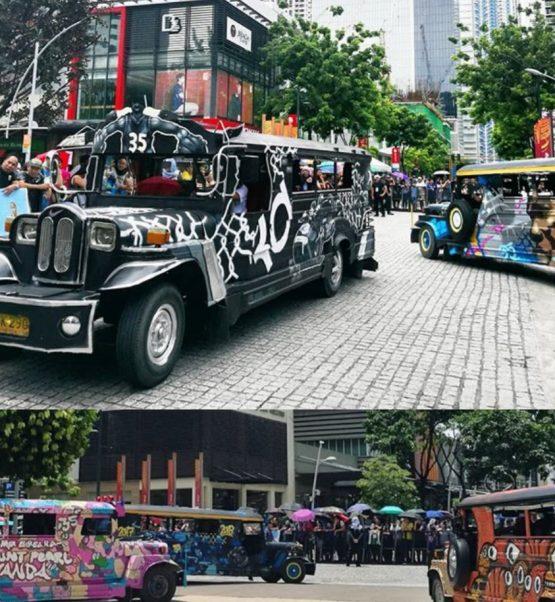 Kevin Durant Jeepney Parade